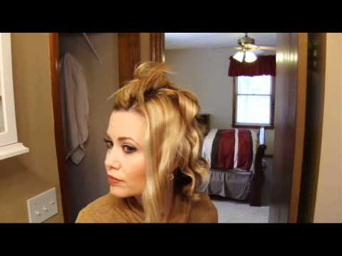 How To Curl A Bob With A Curling Wand Youtube