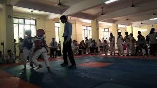Taekwondo fight of prathna thakur...