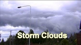 The storm is coming! Nokia in Finland 14.8.2014 Sää Nokialla
