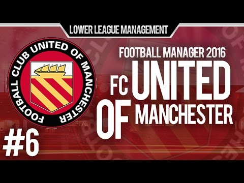 Football Manager 2016 LLM Playthrough | FC United of Manchester #6 | Defence Poor Away From Home