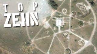 10 Rätsel - gelöst mit Google Earth!