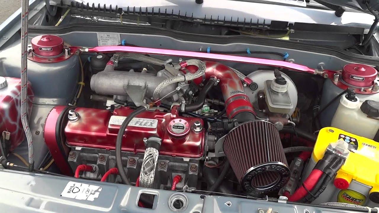 Красивый двигатель Ваз 2115 - YouTube