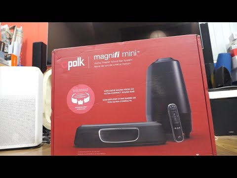 Polk Audio MagniFi Mini SoundBar Home Theater System Review