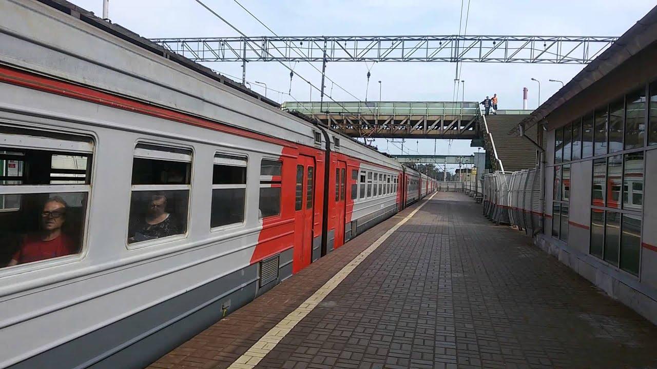 ЭД4М-0127 Голутвин-Москва(Казанский вокзал) - YouTube