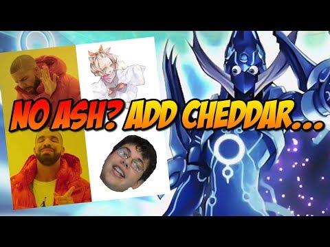 NO ASH? ADD CHEDDAR...