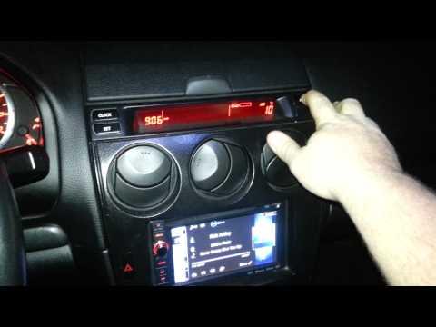 Setting The Display On A Metra Kit. Mazda 6