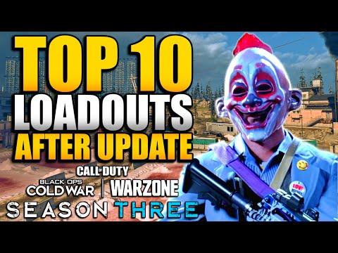 Top 10 Loadouts & Class Setups in WARZONE After 1.36 Update (Amax, FFAR, FARA, Kar98k, AK47 & LC10)