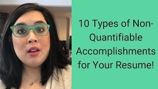 How to Write Accomplishments on Your Resume Without Quantifying Them