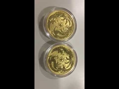 Gold Dragon Phoenix + Bitcon + Super Premium BU Rant (Apologies for camera)
