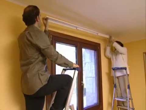 Bricoman a panel japon s youtube - Carriles para cortinas ...