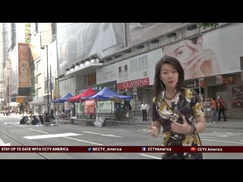 Hong Kong shops see sales loss during protest