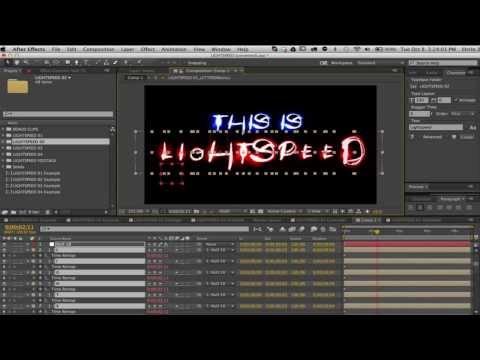 LightSpeed Animated Font Tutorial