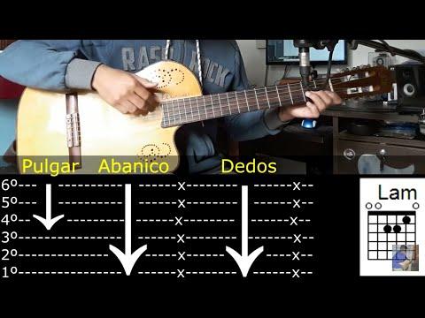 Como Tocar Vals (Rasguido) - Tutorial Guitarra