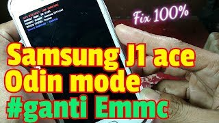 Samsung J1 Ace J110G Odin Mode Solutions Replace EMMC Part 2