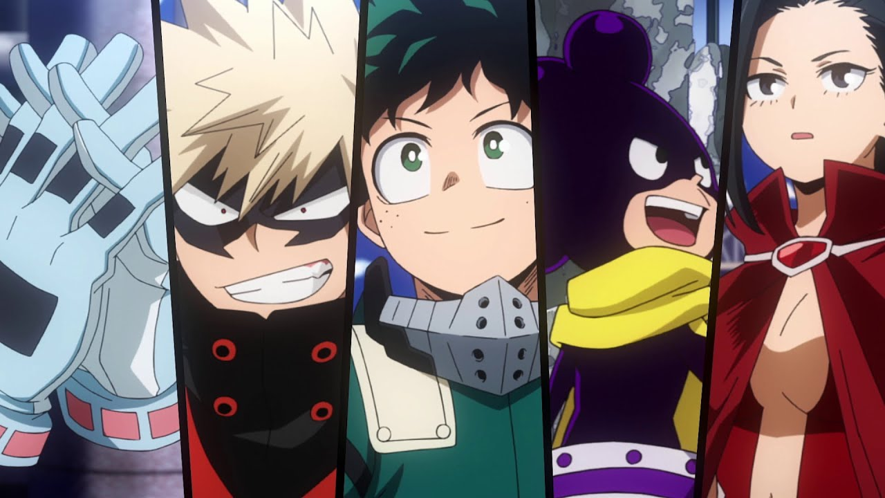 Costumes Unveiled For The Upcoming Season 5 Of My Hero Academia