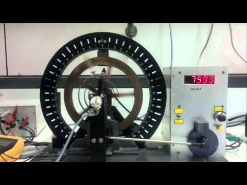 Uni Ulm Grundpraktikum Physik - Versuch 3 Drehpendel - Video 1