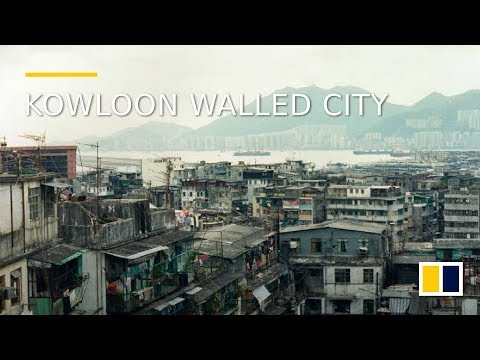 A rare look inside the Kowloon Walled City in 1990