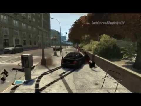 GTA IV - Crash Montage /Fails Stunts And More - PART 1