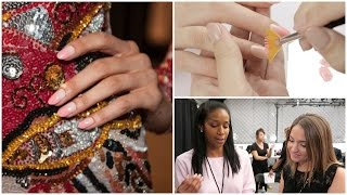 Nail Art Backstage At NYFW! | Behind The Polish Ep. 4