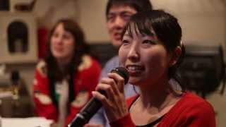 Yoshie sings Totoro Karaoke