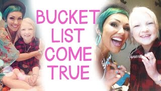 Bucket List Come True: Ella and Kandee, Our Day Together Thumbnail