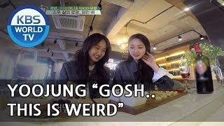 Yoojung and Mina's wine tasting experience