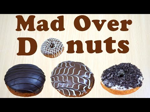 How to make donuts like M.O.D. (Mad Over Donuts) at home !! Double trouble |Yummylicious
