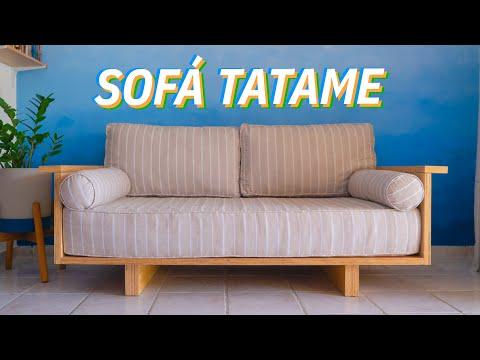 DIY - SOFÁ TATAME (Aprenda a fazer do ZERO!)