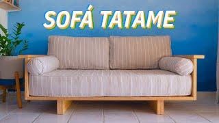 DIY – SOFÁ TATAMI (Aprenda a fazer do ZERO)