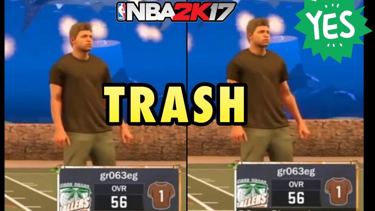THE LIFE OF A TRASH BROWN SHIRT - NBA 2K17 (NO BADGES)