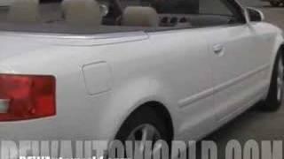 Audi A4 Convertible 2004 - $19,995 Dallas Texas