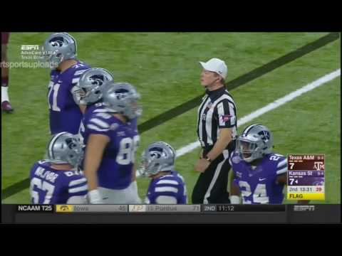 (Texas Bowl) Texas A&M Aggies vs Kansas State Wildcats in 30 Minutes - 12/28/16