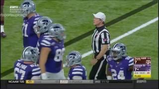 (Texas Bowl) Texas A&M Aggies vs Kansas State Wildcats in 30 Minutes - 12/28/16