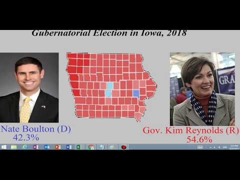 Gubernatorial Election Prediction in Iowa, 2018