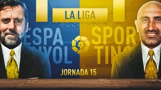 Video Gol Pertandingan Espanyol vs Sporting Gijon