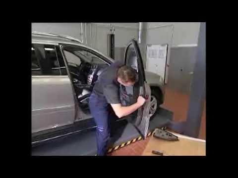Как снять карту двери Mercedes-Benz W164 ML-Class