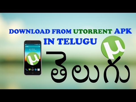 How to download from utorrent app on android in telugu [TELUGU DROID]