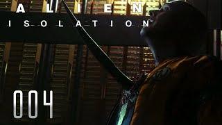 👽 ALIEN ISOLATION [004] [Erster Kontakt mit dem Alien] Let's Play Gameplay Deutsch German thumbnail