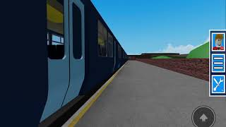 Class 456 at speed GCR [ROBLOX]