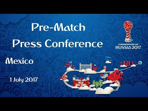 POR v. MEX - 3rd/4th Place Match - Mexico - Pre-Match Press Conference
