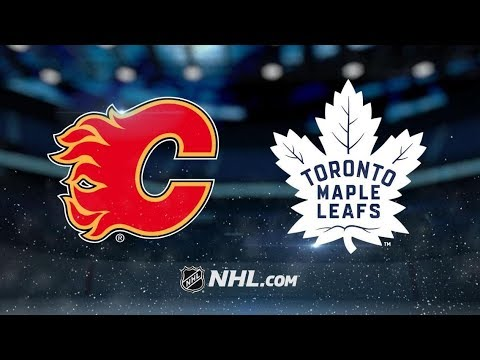 Calgary Flames vs Toronto Maple Leafs | Oct.29, 2018 | Game Highlights | NHL 2018/19 | Обзор Матча