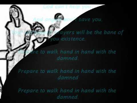 Alesana Hand in Hand with the damned Lyrics mp3