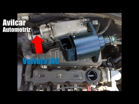 Carro Acelerado Valvula Iac Idle Air Control Avilcar Youtube