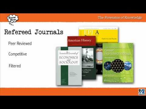 Refereed (peer-reviewed) VS. Popular Journals