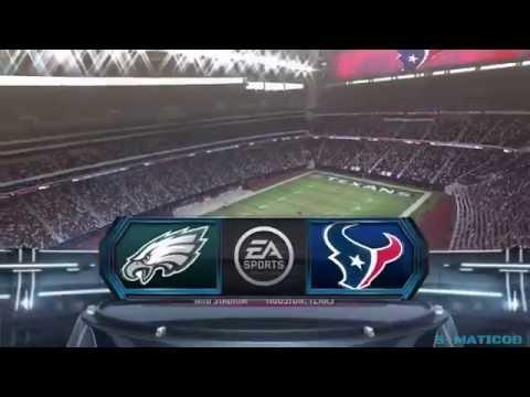 Eagles vs. Texans Week 9 Highlights Madden NFL 15 Gamplay PS4