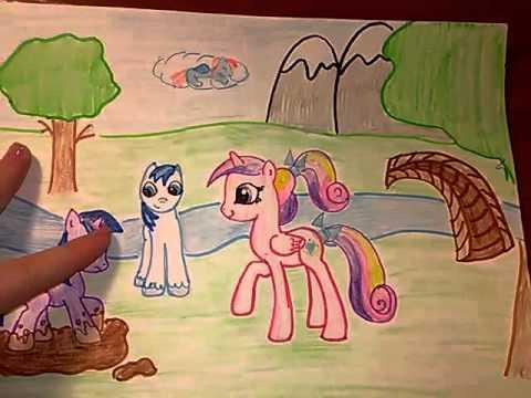 мои рисунки пони часть 1