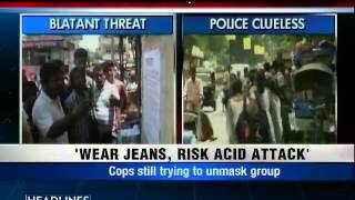 Posters threaten acid attack on women wearing jeans in Ranchi-2