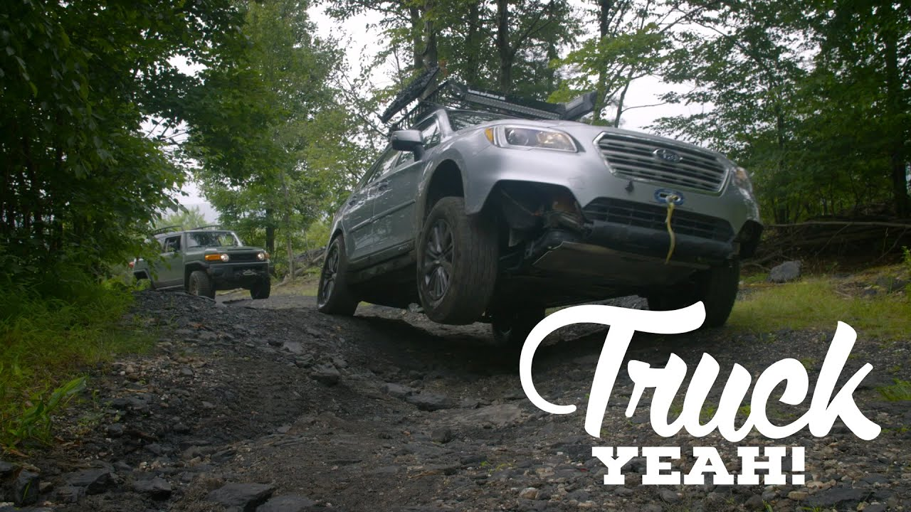 A Lifted Subaru Outback Is The Best Suv You Can Buy Youtube