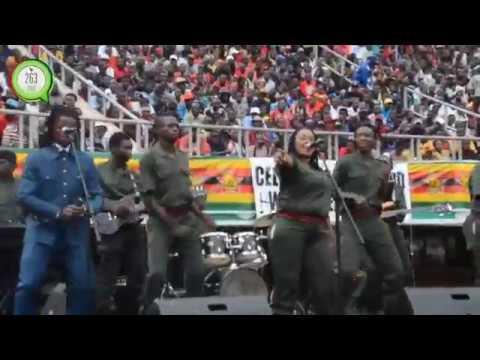 Andy Muridzo @ 37th Zimbabwe Independence celebrations #263Chat