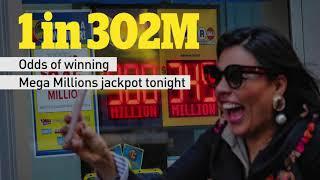U.S. Mega Millions jackpot at $970M